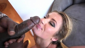 Cumshot accompanied by big ass blonde haired Sheena Shaw