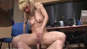 Passionate french housewife rough pussy fuck HD