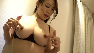 Hairy japanese in sexy stockings