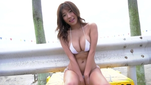 Large boobs japanese mature fucking outdoors HD