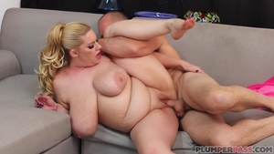Sex in the company of hot blonde haired