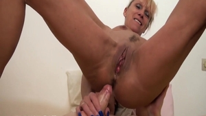 Super cute french mature pussy fucking
