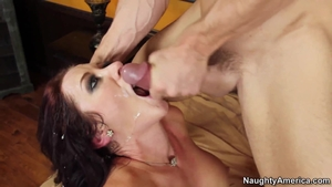 Very hot Jayden Jaymes cumshot