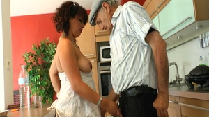 Slamming hard in the company of passionate french slut