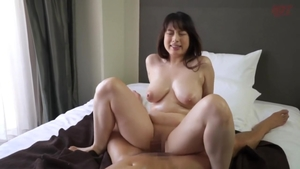 Rough nailing escorted by wild asian brunette