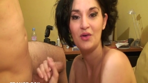 Charming french chick needs art real sex in HD
