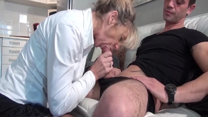 Cum in pussy passionate french in HD