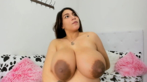 Latina mature show natural big tits