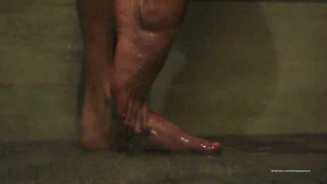 Young female in shower HD