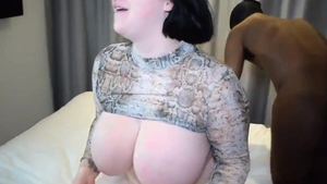 Chubby Arab BBW Harmony Reigns wishes hard nailining HD