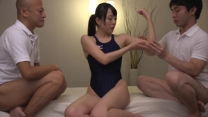 Competition next to very kinky japanese in a suit HD