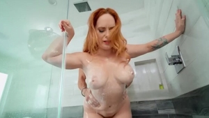 Summer Hart giving head for big dick