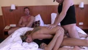 Anal double at the audition russian HD