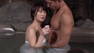 Hairy asian censored goes wild on cock HD