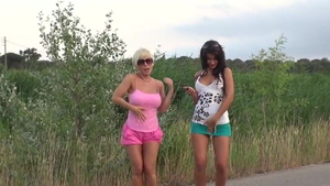 Group sex alongside european teen chick Susy Gala