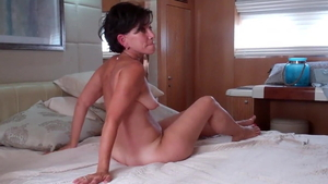 Housewife agrees to threesome in HD
