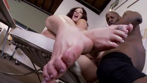 Hardcore sex starring amazing secretary Jayden Jaymes