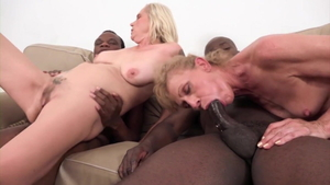 Young being fucked by BBC Joachim Kessef