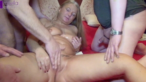 Creampied on Xmas large boobs german Rosella Extrem in HD