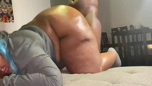 Young ebony slut deepthroat