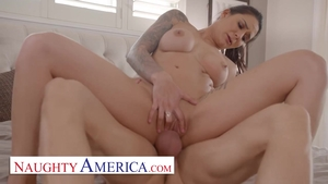 Throat fuck video accompanied by super hot raw Alexis Zara