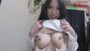 Asian in sexy stockings HD