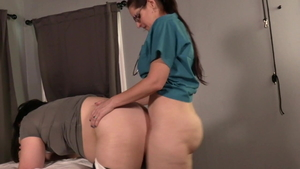 Big ass girl medical doggy style