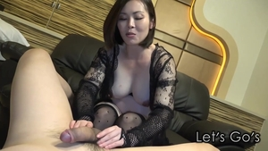 Tattooed in tight stockings uncensored foot fetish in HD