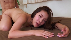 Hairy mature masturbation with huge dildo