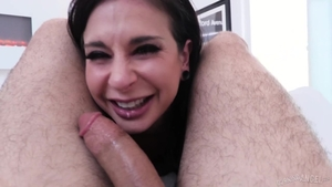 Raw hard nailining along with Joanna Angel