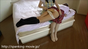 Spanking escorted by too cute japanese amateur