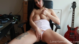 Hard pounding in company with beautiful amateur