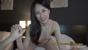 Creampied hairy asian