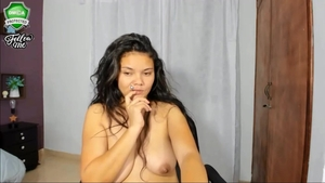 Hottest latina amateur pussy fuck on live cam