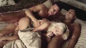 Threesome together with huge tits Lovita Fate and Nick Ross