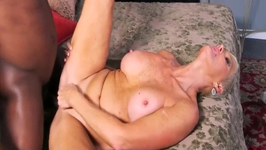 Busty mature fucked by BBC