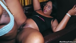 Pussy sex along with big ass ebony Shanice Luv