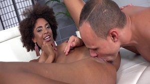 Afro pussy fucking