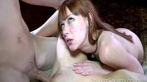 Hawt busty babe crazy pussy eating