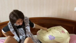 POV the best sex accompanied by skinny teen
