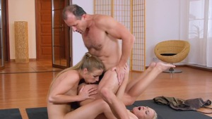 Girl european George Uhl together with Alexis Crystal creampie
