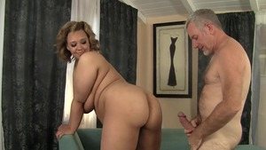 Large tits blonde fucked in the butt