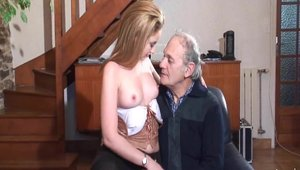 Nude in France - Hard ramming escorted by young french babe