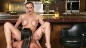 Hottest Tanya Tate and Marina Angel got nailed video