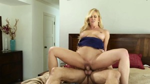 Big tits blonde Danny Mountain enjoys hardcore sex
