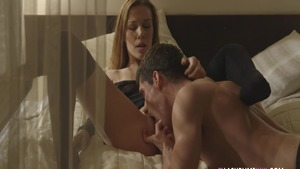 Nailing starring shaved czech blonde Alexis Crystal
